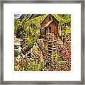 Historic Crystal Colorado Framed Print