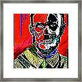 Hitler  - The  Face  Of  Evil Framed Print