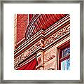 Hoboken Brownstone Art Framed Print
