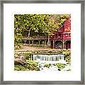 Hodgson Mill Framed Print by Steven Bateson