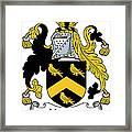 Hodson Coat Of Arms Irish Framed Print