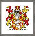 Hoey Coat Of Arms Irish Framed Print
