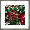 Holiday Bows Framed Print