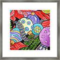 Holiday Decorations Framed Print