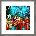 Holiday Lightp Framed Print