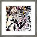 Holy Bible Framed Print by Mimi Eskenazi
