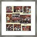 Holyoke Carousel Collage Framed Print