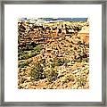 Home Of Calf Creek Falls Framed Print