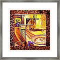 Home Sweet Home Decorative Design Welcoming One Framed Print