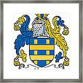 Hone Coat Of Arms Irish Framed Print