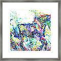 Horse Painting.33 Framed Print