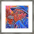 Hot Harp Framed Print