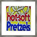 Hot Pretzels Framed Print by Skip Willits