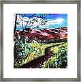 Hot Summer Day Framed Print