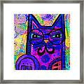 House Of Cats Series - Paws Framed Print