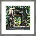 Hoyt Park Bridge Framed Print