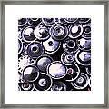 Hubcaps Framed Print