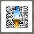 I Am Woman Framed Print