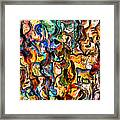 I Believe In A Thing Called Love Framed Print