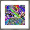 I Dreamed Of Neon Skies Framed Print