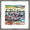 Ibiza Seas Framed Print by Anthony Fox