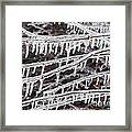Ice Abstract 2 Framed Print