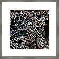 Iced Out Bikes Framed Print