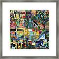 If There Is No Flour There Is No Torah 8 Framed Print