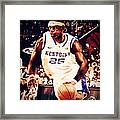 If They Had Played In College Framed Print by Edward Pegues