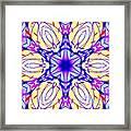 Illuminated Blossom Framed Print