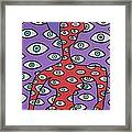 Im Watching You Framed Print