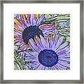 Impressionism Sunflowers Framed Print