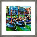 Impressionistic Photo Paint Gs 009 Framed Print