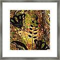 Impressions - Forest - Flowers Framed Print