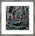 In Sospensione - Wallpaper Venice Italy - Venedig Kunstausstellung Framed Print