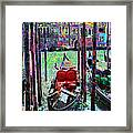 In The Stable Framed Print