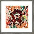 Indian Head Series 02 Framed Print