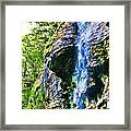 Indian Ladder Falls 2 Framed Print
