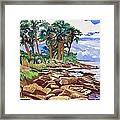 Indian River Lagoon Framed Print