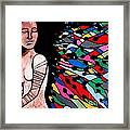 Indian Wave Framed Print