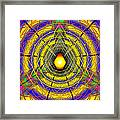 Infinity Gateway Nine Banner Framed Print