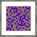 Infused Segments.13 Framed Print
