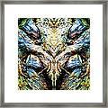 Ingrained Wings Framed Print