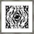 Ink Spot Framed Print