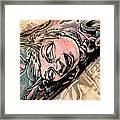 Inked Framed Print