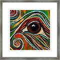 Inner Strength Spirit Eye Framed Print