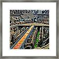 Inside The Colosseum I I Framed Print