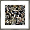 Interior Russian Submarine Horz Collage Framed Print