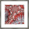 Intersecting Framed Print