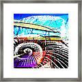 Interstate 10- Cushing St Overpass- Rectangle Remix Framed Print